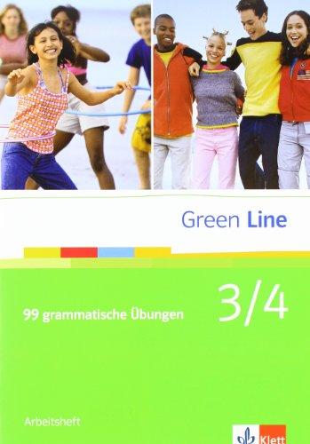 9783125600942: Green Line Band 3/4. 99 grammatische Übungen mit Lösungen: BD 3/4