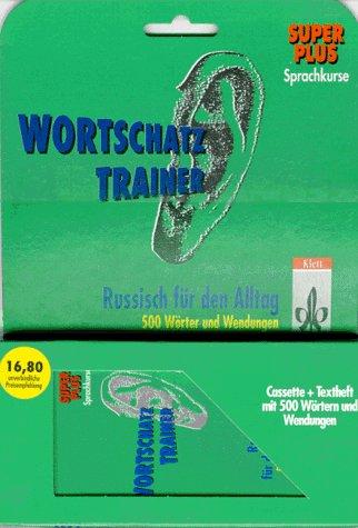 9783125605824: PONS Wortschatztrainer Russisch für den Alltag, je 1 Cassette m. Beiheft.