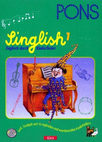 9783125606555: PONS Singlish, Englisch durch Kinderlieder, Audio-CDs, Tl.1, 1 Audio-CD