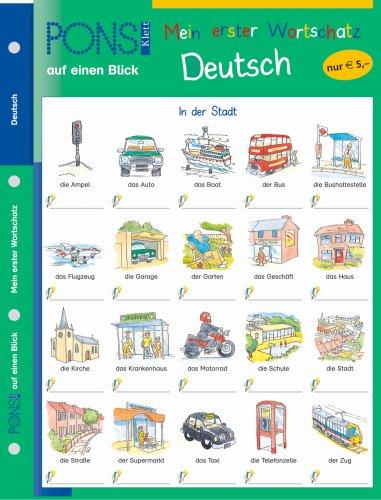 9783125606845: PONS Mein erster Wortschatz auf einen Blick. Deutsch.