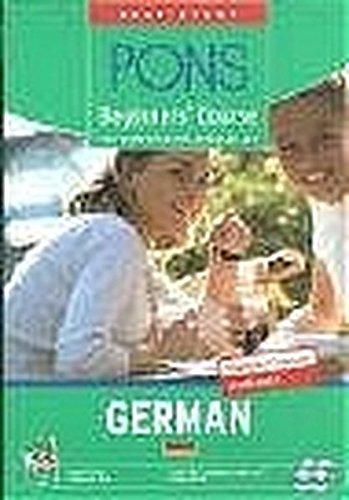 9783125607149: PONS Beginners' Course German, Lernbuch, Begleitheft u. 4 Audio-CDs
