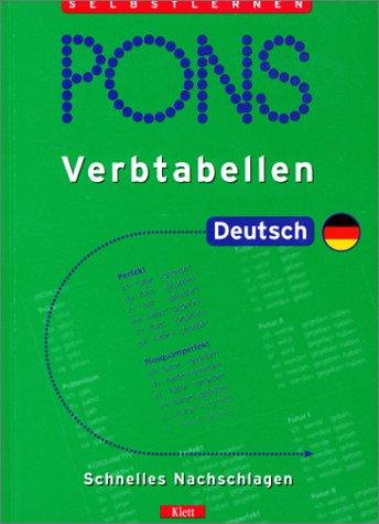 PONS Verbtabellen, Deutsch: Weermann, Eva Maria