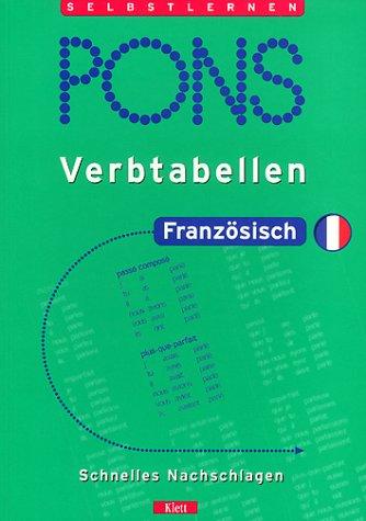 9783125608450: PONS Verbtabellen, Französisch