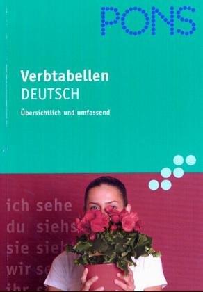 9783125609808: Pons Verbtabellen, Deutsch