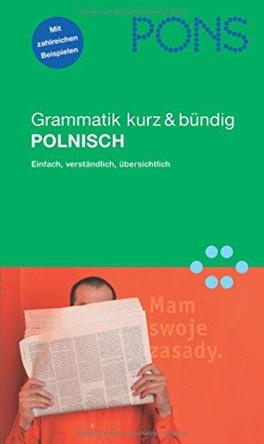 9783125611450: PONS Grammatik Polnisch. Kurz und bundig