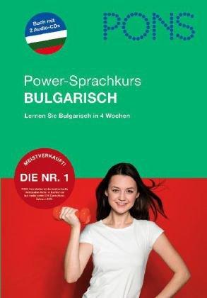 9783125611900: PONS Powerkurs für Anfänger. Bulgarisch. Buch und 2 CDs: Alles Wichtige schnell lernen
