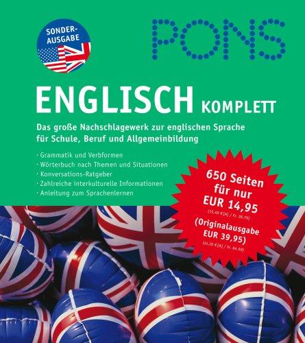 9783125612099: PONS Englisch KOMPLETT: Das große Nachschlagewerk zur englischen Sprache