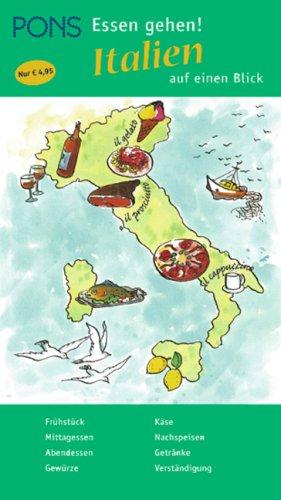 PONS Urlaub. Essen gehen! Italien auf einen Blick
