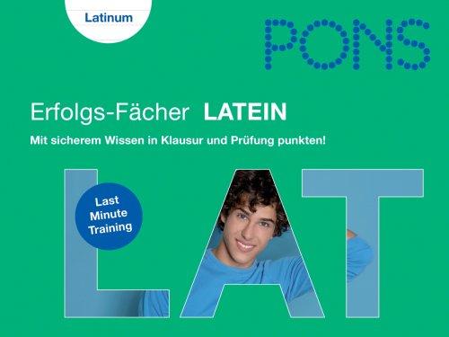 9783125613447: PONS Erfolgs-Fächer Abi Latein: Mit sicherem Wissen in Klausur und Prüfung punkten!