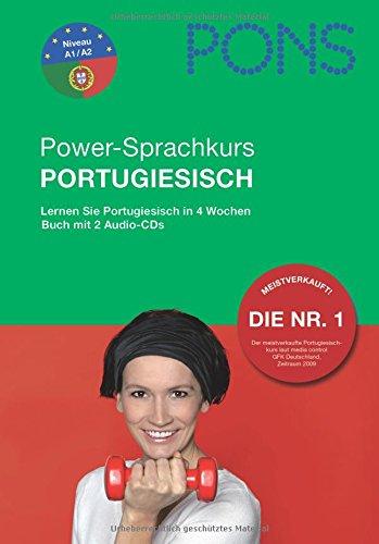 9783125613492: PONS Powerkurs für Anfänger Portugiesisch. Buch und 2 Audio-CDs: Lernen Sie Portugiesisch in 4 Wochen