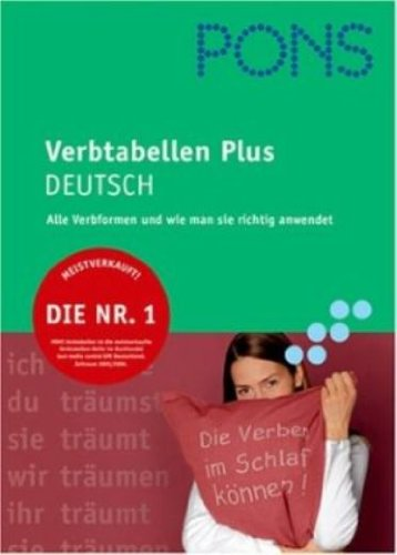9783125613546: PONS Verbtabellen Deutsch: Übersichtlich und umfassend