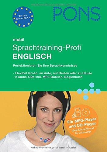 9783125613737: PONS mobil Sprachtraining-Profi Englisch. 2 MP3-CD