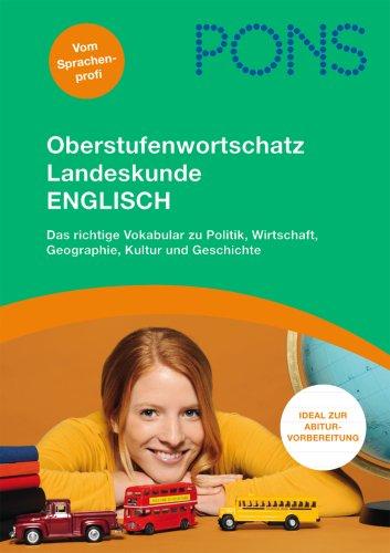 9783125614352: PONS Oberstufenwortschatz Landeskunde Englisch