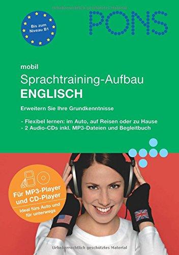 9783125615212: PONS mobil Sprachtraining - Aufbau Englisch. 2 CDs: Kompaktes Training - auch unterwegs