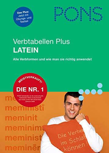 9783125616578: PONS Verbtabellen Plus Latein: Verben: übersichtlich und umfassend, alle Verbformen und Konjugationen