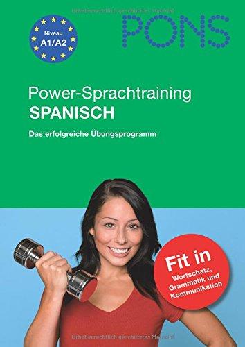 9783125617360: PONS Power-Sprachtraining Spanisch. Mit 2 Audio-CDs: Das erfolgreiche Übungsprogramm