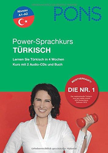 9783125618091: PONS Power-Sprachkurs Türkisch: Lernen Sie Türkisch in 4 Wochen. Buch mit 2 Audio-CDs