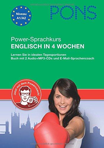 9783125618367: PONS Power-Sprachkurs Englisch in 4 Wochen: Lernen Sie in idealen Tagesportionen