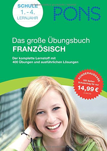 9783125618626: PONS Das große Übungsbuch Französisch: Der komplette Lernstoff mit 400 Übungen und ausführlichen Lösungen