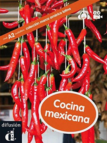 9783125618831: Cocina mexicana. Buch mit CD-ROM: A2/B1