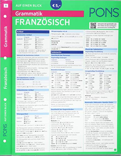 9783125618992: PONS Grammatik auf einen Blick Französisch