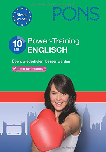 9783125619012: PONS 10-Minuten-Power-Training Englisch