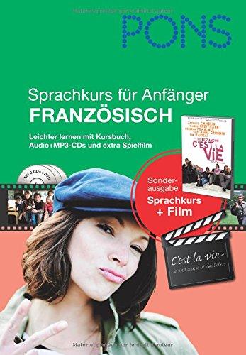 9783125619425: PONS Sprachkurs für Anfänger Französisch: Leichter lernen mit Buch, Film und Audio-CDs