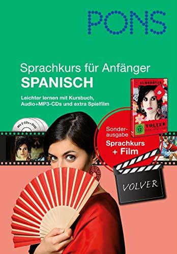 9783125619432: PONS Sprachkurs für Anfänger Spanisch: Leichter lernen mit Buch, Film und Audio-CDs