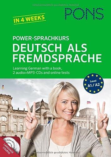 9783125619494: Pons German Series: Pons Power-Sprachkurs Deutsch Als Fremdsprache - Book + CD