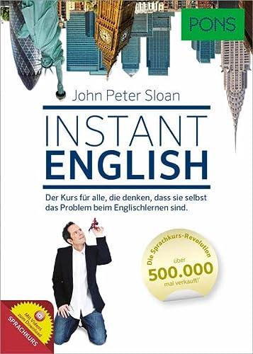 9783125619517: PONS Instant English (A1-A2): Der Kurs für alle, die denken, dass sie selbst das Problem beim Englischlernen sind