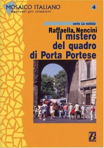 9783125619869: Il mistero del quadro di Porta Portese. Mit Materialien.