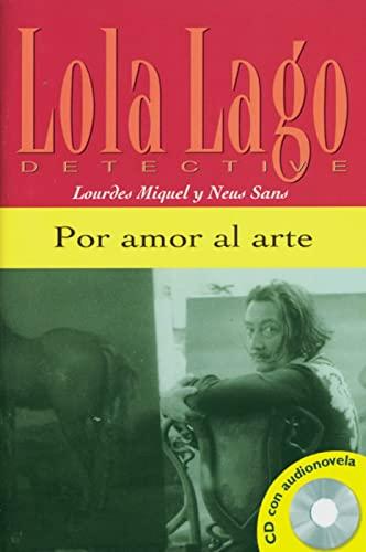 9783125620155: Por amor al arte. Buch und CD: Nivel 1