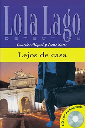 9783125620162: Lejos de casa. Buch und CD: Lola Lago, detective. Nivel 2
