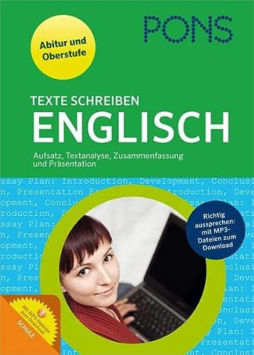 9783125625716 Pons Texte Schreiben Englisch Aufsatz Textanalyse