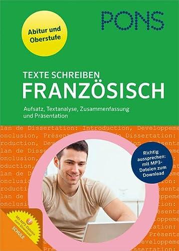 9783125625723 pons texte schreiben franzsisch aufsatz textanalyse zusammenfassung und prsentation - Zusammenfassung Franz Sisch