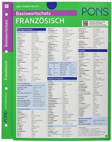 9783125626904: PONS Basiswortschatz auf einen Blick Französisch