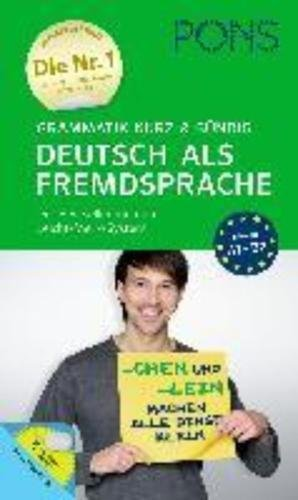 9783125626935: PONS Grammatik kurz & bündig Deutsch als Fremdsprache: Der Bestseller mit dem Leicht-Merk-System