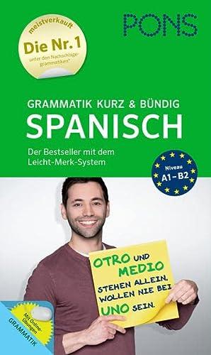 9783125626966: PONS Grammatik kurz & bündig Spanisch