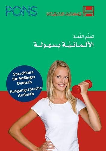 9783125628700: PONS Power-Sprachkurs Deutsch als Fremdsprache: Sprachkurs Deutsch - Hauptsprache Arabisch