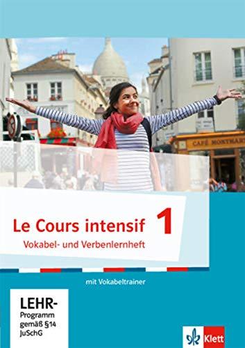9783125630031: Cours intensif 1. Französisch als 3. Fremdsprache. Vokabel- und Verbenlernheft mit virtuellem Vokabeltrainer online