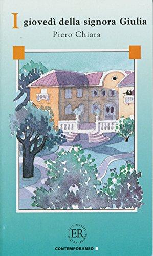 9783125657403: Easy Readers - Italian: I Giovedi Della Signora Giulia