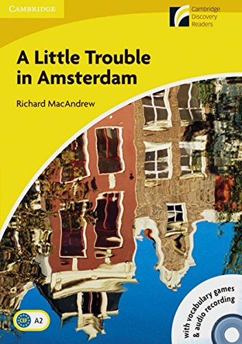 9783125730281: A Little Trouble in Amsterdam. Mit Audio-CD: Book with CD-ROM and Audio-CD-Pack. Englische Lektüre für das 3. Lernjahr