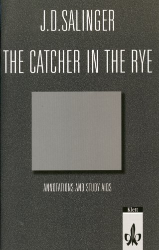 9783125738089: The Catcher in the Rye. Annotations and Study Aids. (Lernmaterialien)