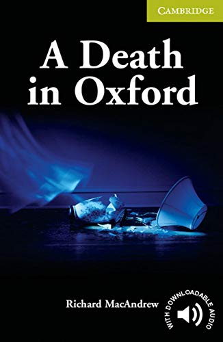 9783125740921: A Death in Oxford