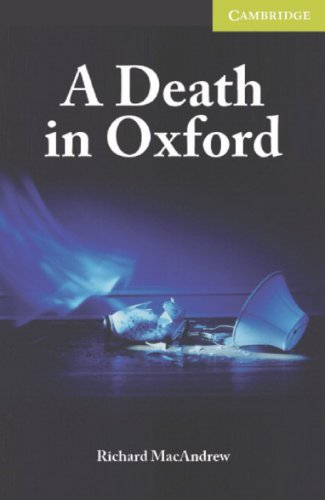 9783125740938: A Death in Oxford: Englische Lektüre für das 1. Lernjahr. Book + Audio CD