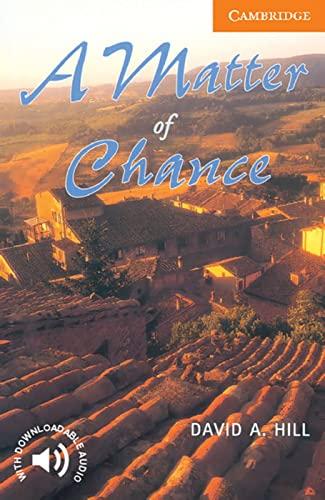9783125744080: A Matter of Chance: Level 4, 1.900 Wörter
