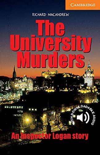9783125744226: The University Murders: An Inspector Logan story. Englische Lektüre für das 3. Lernjahr. Paperback with downloadable audio