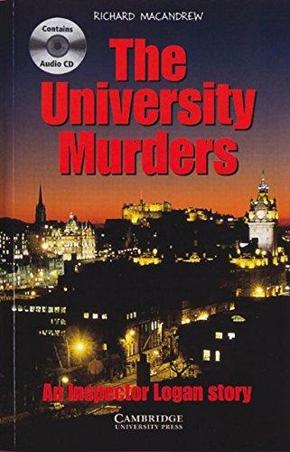 9783125744233: The University Murders. Buch und CD: An Inspector Logan story. Level 4, Wortschatz 1900
