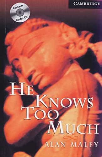 9783125746305: He Knows too Much. Buch und CD: Level 6, Wortschatz 3.800