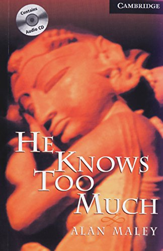 9783125746305: He Knows too Much. Buch und CD